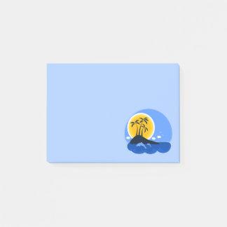 Leuk Tropisch Eiland met Dolfijnen Post-it® Notes