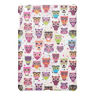Leuk uil ipad minihoesje iPad mini case