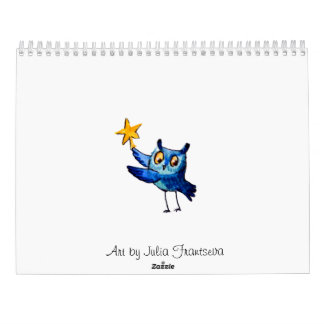 Leuk uilenart. kalender