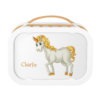 Leuk van de de douanetekst van de Eenhoorn de Lunchbox