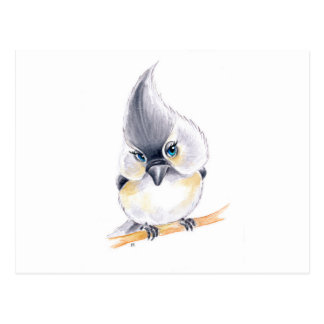Leuk vogeltje briefkaart