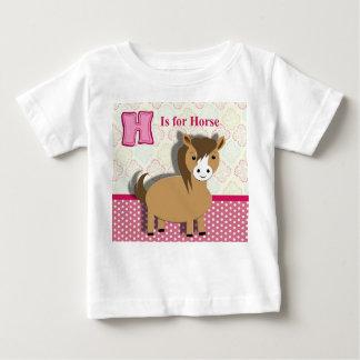 Leuk Weinig Afbeelding van het Alfabet van het Baby T Shirts