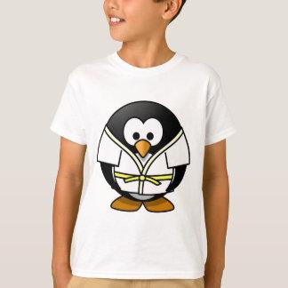 Leuk weinig geanimeerde judopinguïn t shirt