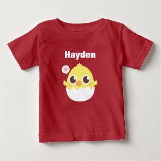 Leuk Weinig het Uitbroeden van het Kuiken van het Baby T Shirts
