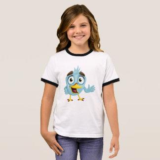 Leuk weinig vogel t shirts