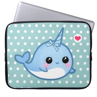 Leuke babynarwal laptop sleeve