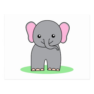 Leuke babyolifant briefkaart