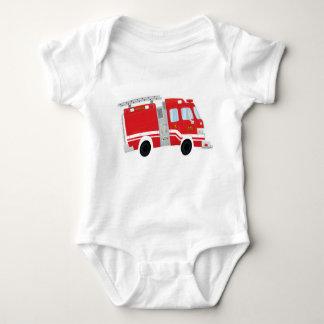 Leuke Bodysuit van het Baby Firetruck