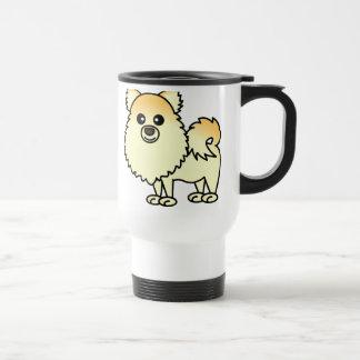 Leuke Cartoon Pomeranian Reisbeker