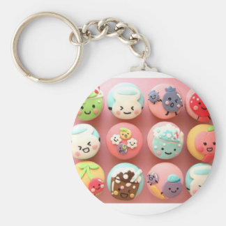 Leuke Cupcake Keychain Sleutelhanger