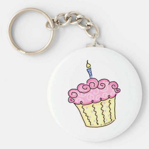 Leuke Cupcake Sleutel Hangers