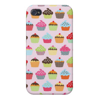 Leuke Cupcakes iPhone 4/4S Cover