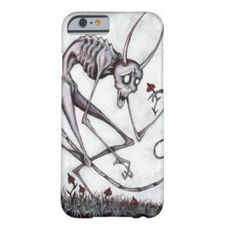 Leuke demon met bloem acryl het schilderen barely there iPhone 6 hoesje