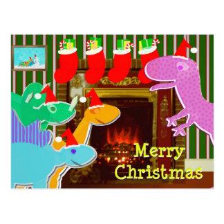 Leuke Dinosaurussen door het Briefkaart van