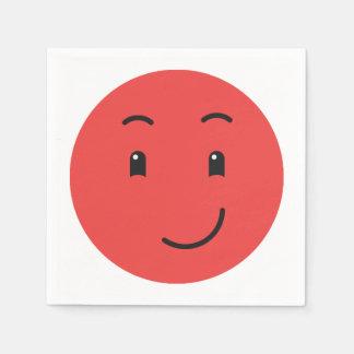 Leuke document Smiley servetten 1/9 Wegwerp Servetten