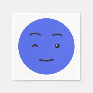 Leuke document Smiley servetten 3/9 Wegwerp Servet
