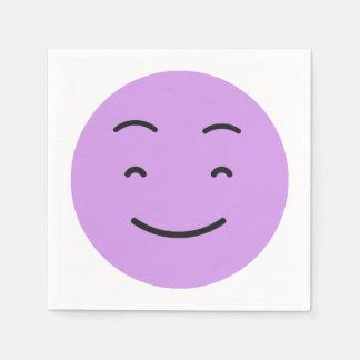 Leuke document Smiley servetten 4/9 Wegwerp Servet