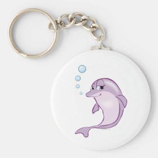 Leuke Dolfijn Sleutelhanger