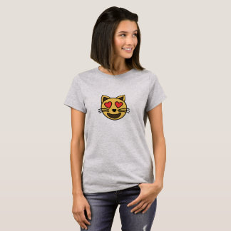 Leuke emojiT-shirt van de liefdekat T Shirt