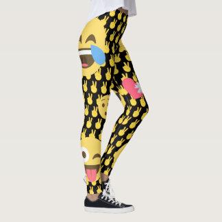 Leuke en Grappige Beenkappen Emoji Leggings