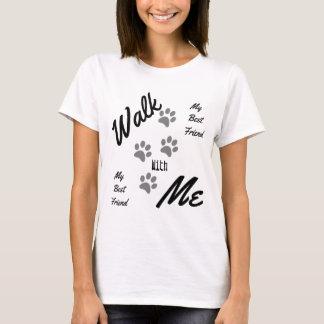Leuke Gang met me Trendy Huisdier van de Druk van T Shirt