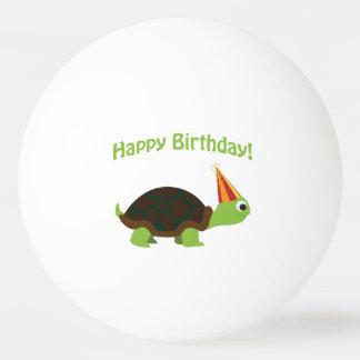 Leuke Gelukkige Verjaardag! Schildpad Pingpongbal