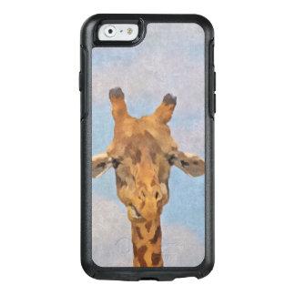 Leuke Geschilderde Giraf OtterBox iPhone 6/6s Hoesje