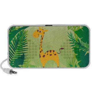 Leuke Giraf Reis Speakers