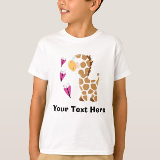 Leuke Giraf T Shirt