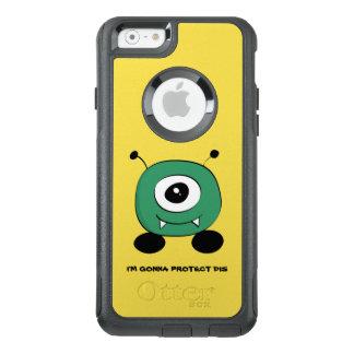 Leuke Grappige Groene Vreemdeling OtterBox iPhone 6/6s Hoesje