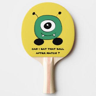 Leuke Grappige Groene Vreemdeling Tafeltennis Bat