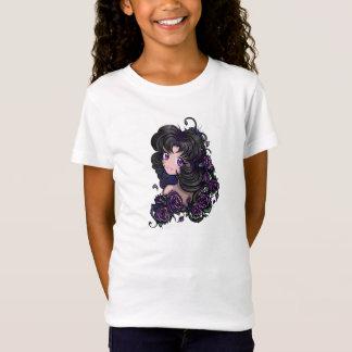 Leuke het meisjesogen van animemanga! Meisjes T Shirt