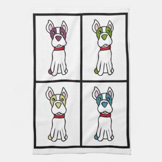Leuke Hond Dishtowel - Boston Terrier Handdoek