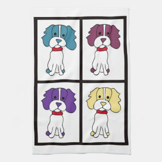 Leuke Hond Dishtowel - Spaniel Theedoek