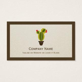 Leuke Ingemaakte Cactus - Eenvoudige Schone Visitekaartjes