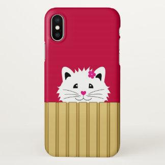 Leuke iPhone X van het Kat