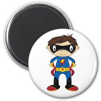 Leuke Jongen Superhero Koelkast Magneetje