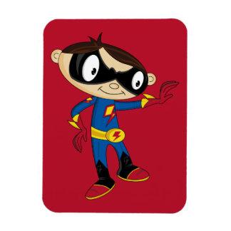 Leuke Jongen Superhero Vinyl Magneet