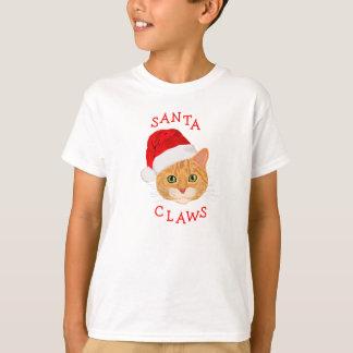 Leuke Kat in Kerstmis van het Pet van de Kerstman T Shirt