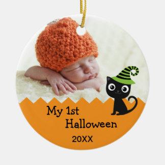 Leuke Kat Mijn Ornament van 1st Halloween