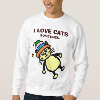 """Leuke kat - """"soms"""" T-shirt/sweatshirt #2 Trui"""