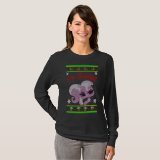 Leuke Kerstmis van de Kat T Shirt
