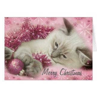 leuke Kerstmiskaart Kaart