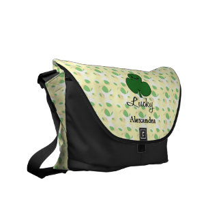 Leuke Klaver Kawaii Courier Bags