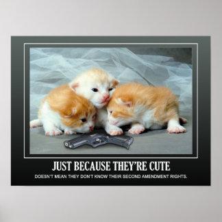 Leuke Kleine Katjes Poster