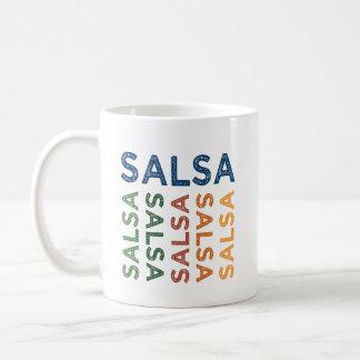 Leuke Kleurrijk van Salsa Koffiemok