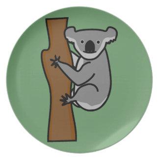 Leuke koala in een boom bord