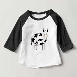 Leuke Koe Baby T Shirts