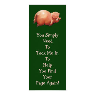 Leuke LEESWIJZER Piggy: Originele Kunst: Rijm Kaart