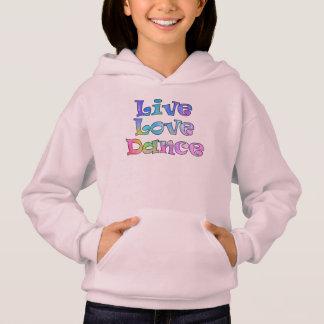 Leuke Levend, Liefde, Dans Hoodie voor een Kleine